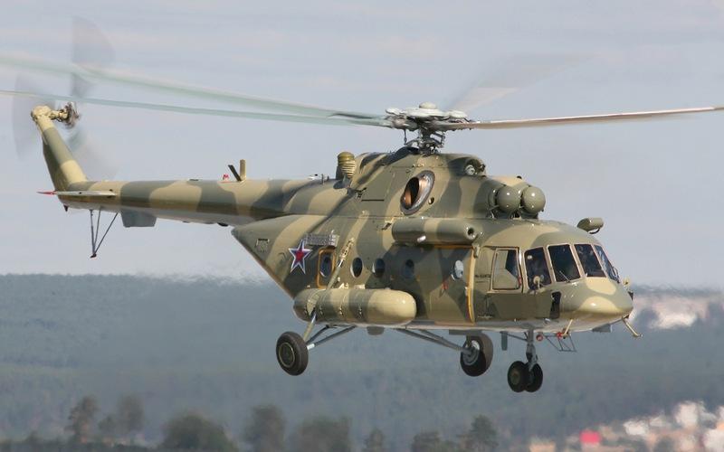 Прыжки с Ми-8