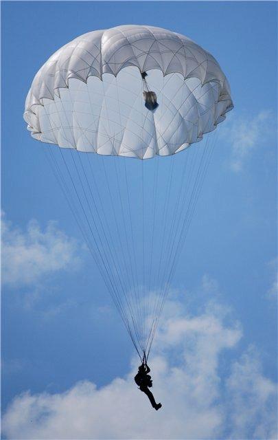 парашют для шаров с прикормкой