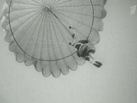 Первый парашют Котельникова РК-1